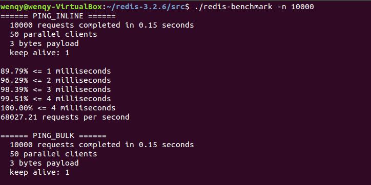 redis-benchmark